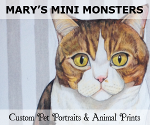 Mary's Mini Monsters - Custom Pet Portraits